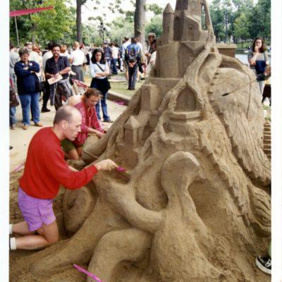 Concours «Châteaux de sable» au parc La Fontaine
